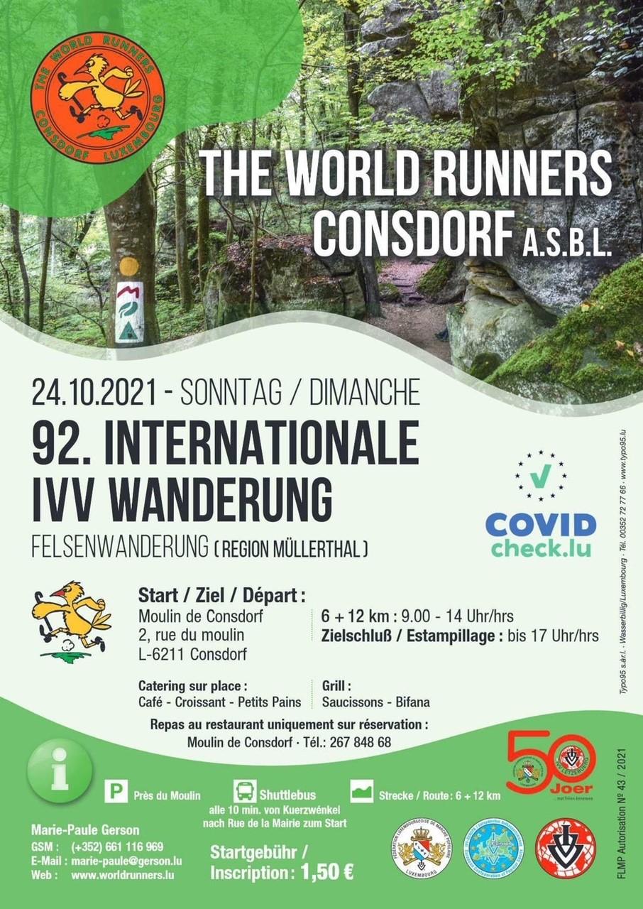 Affiche World Runners